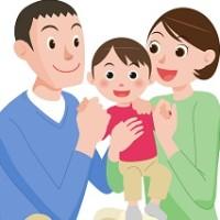 杉並子育て応援ページを案内するイラスト